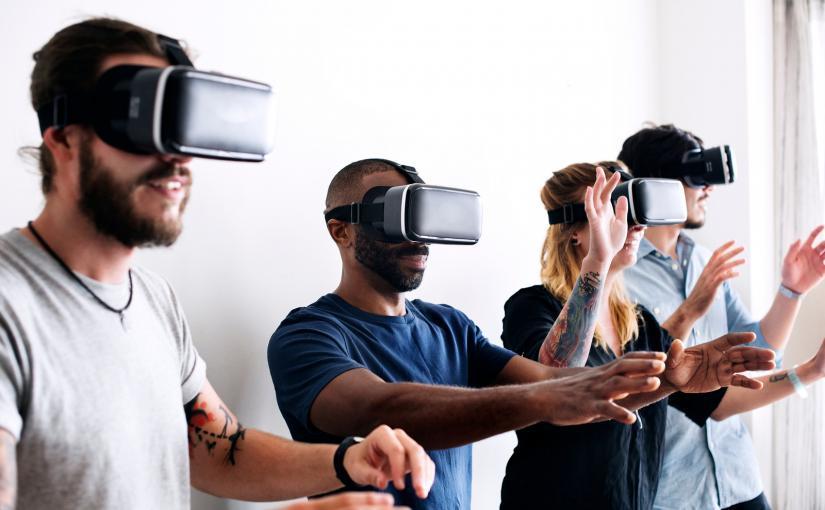 Virtual space game